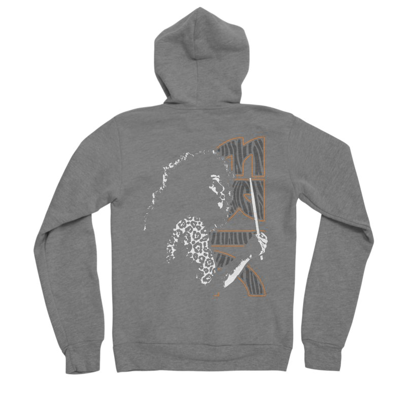 KISS Eric Carr The Hunter Men's Zip-Up Hoody by Klick Tee Shop