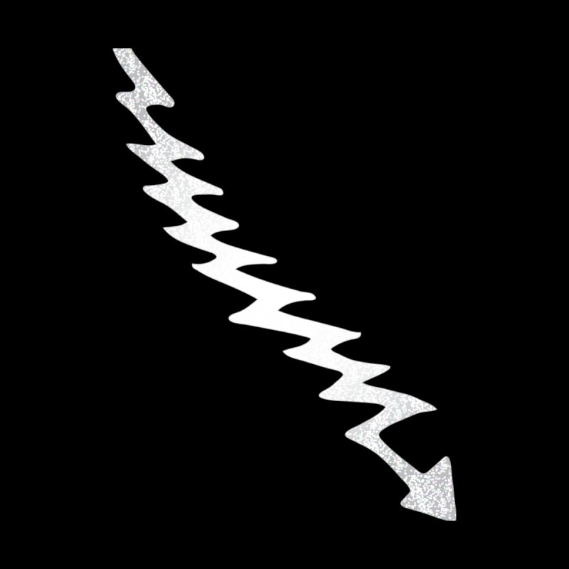 Lightning Bolt Accessories Sticker by Klick Tee Shop