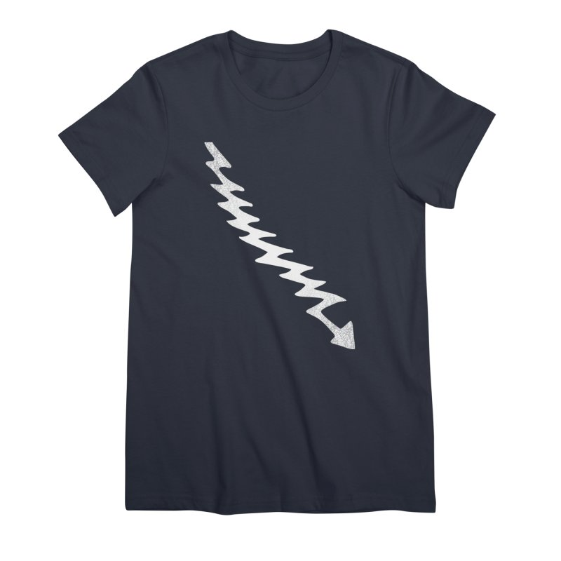 Lightning Bolt Women's T-Shirt by Klick Tee Shop