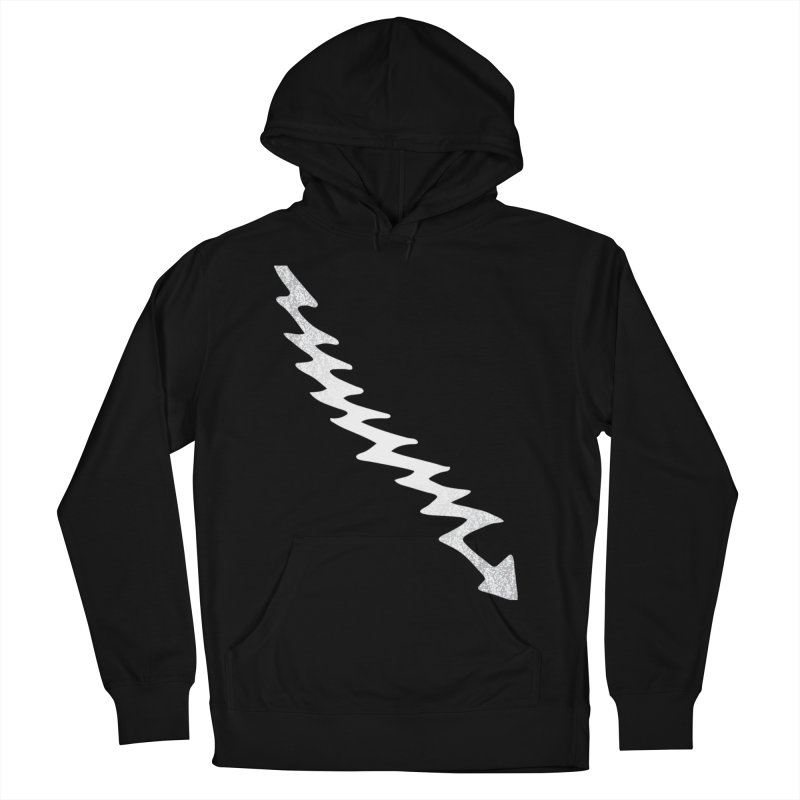Lightning Bolt Men's French Terry Pullover Hoody by Klick Tee Shop