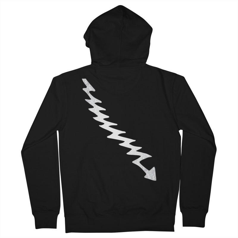 KISS Elder Lightning Bolt Men's Zip-Up Hoody by Klick Tee Shop