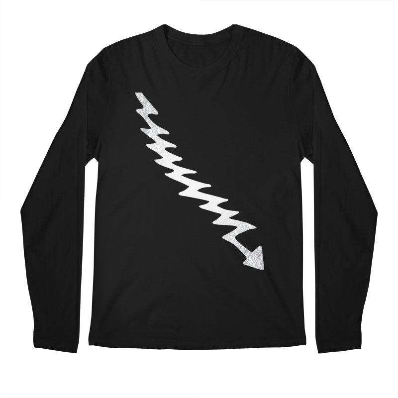 Lightning Bolt Men's Longsleeve T-Shirt by Klick Tee Shop