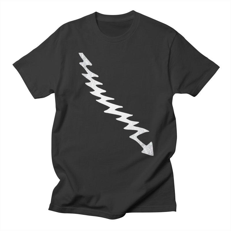 Lightning Bolt Men's T-Shirt by Klick Tee Shop