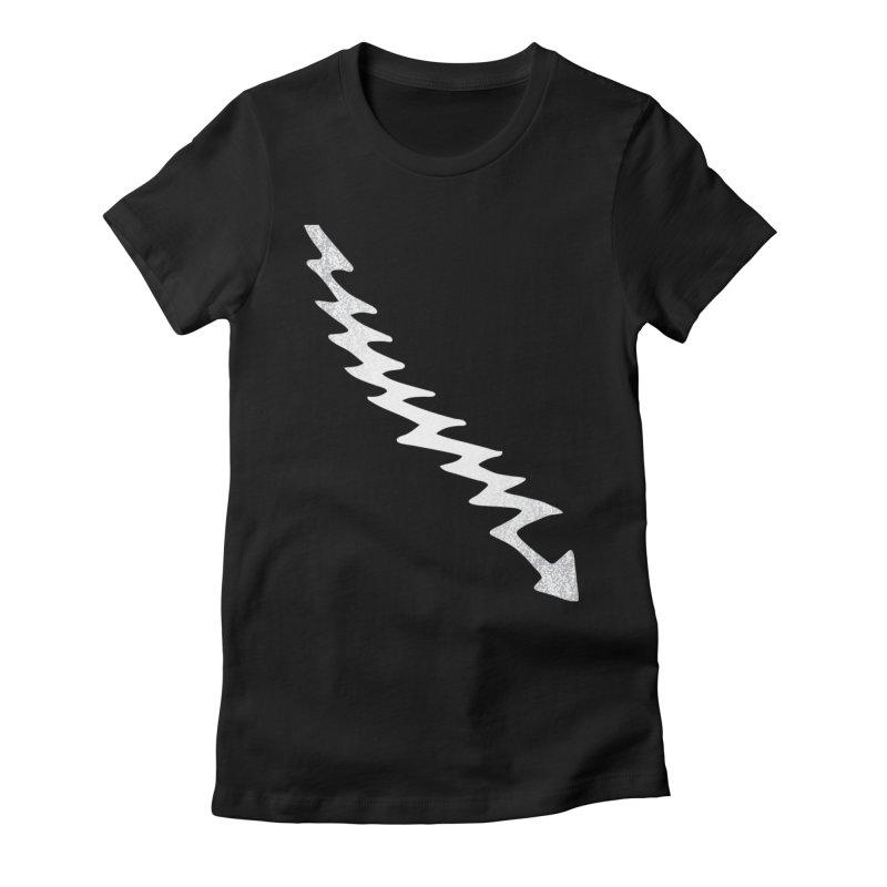 Lightning Bolt Women's T-Shirt by Klick Tee Shop