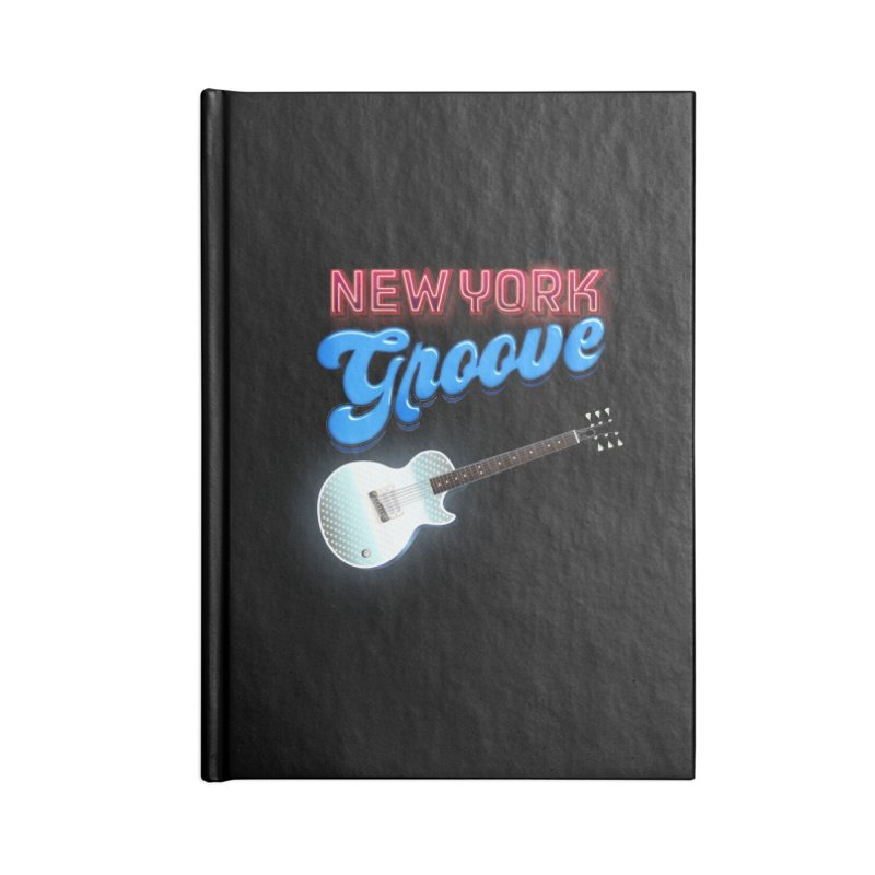 New York Groove Accessories Blank Journal Notebook by Klick Tee Shop