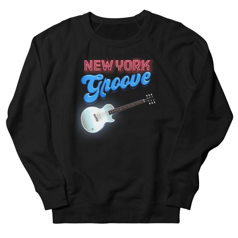 KISS Ace Frehley New York Groove Women's Sweatshirt by Klick Tee Shop