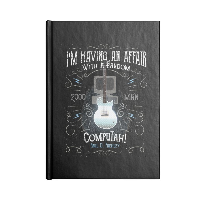 2000 Man Accessories Blank Journal Notebook by Klick Tee Shop