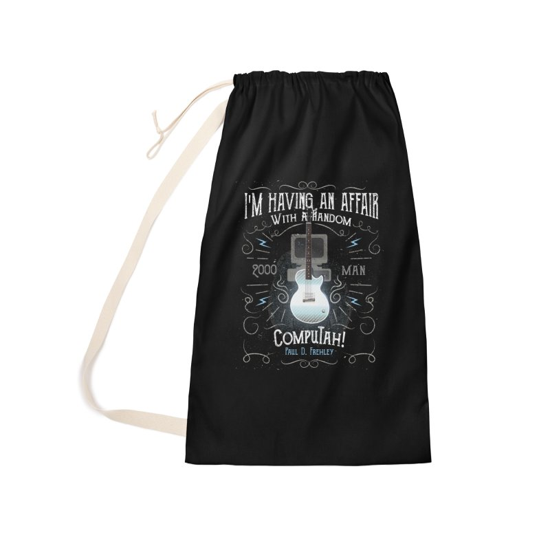 2000 Man Accessories Laundry Bag Bag by Klick Tee Shop