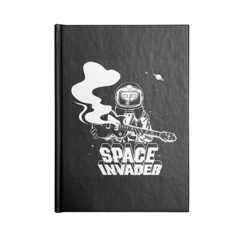 Space Invader Accessories Notebook by Klick Tee Shop