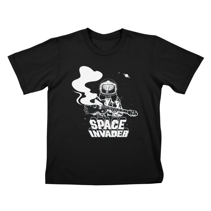 Space Invader Kids T-Shirt by Klick Tee Shop