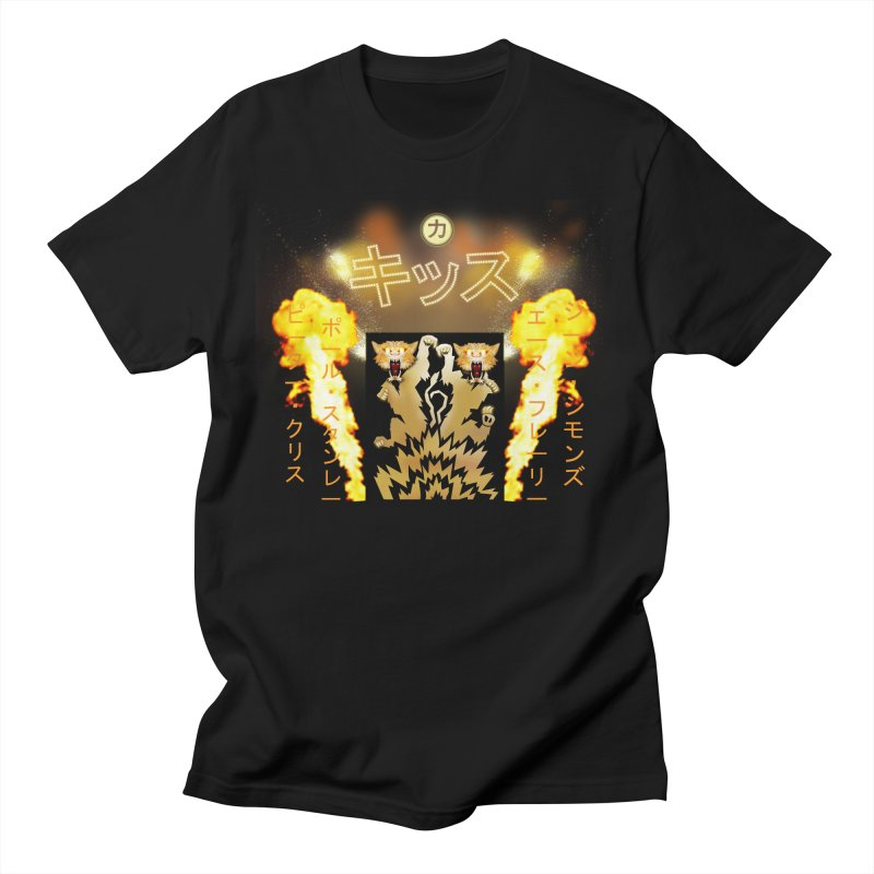 KISS Love Gun Riser Men's T-Shirt by Klick Tee Shop