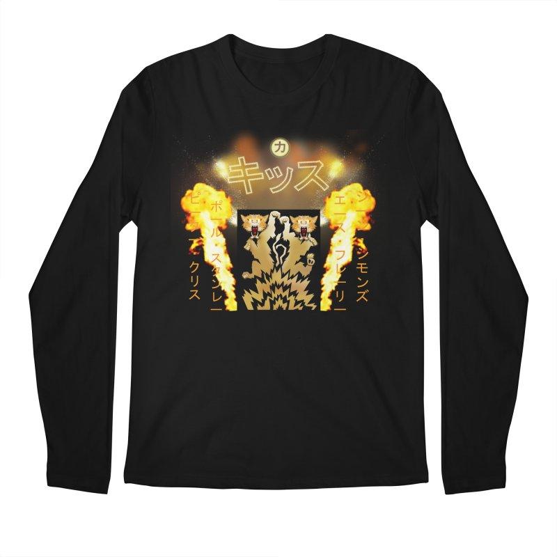 KISS Love Gun Riser Men's Longsleeve T-Shirt by Klick Tee Shop