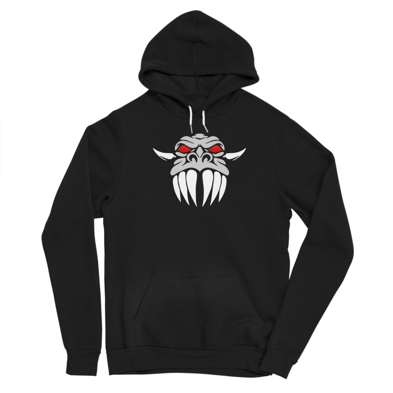 Dragon Face Women's Pullover Hoody by Klick Tee Shop