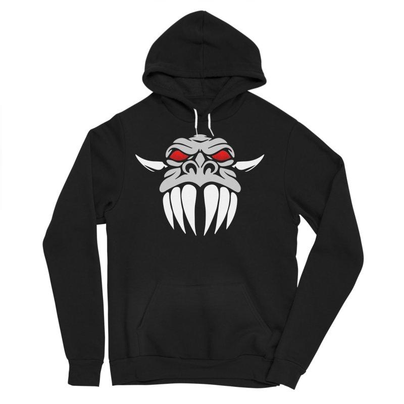 Dragon Face Men's Pullover Hoody by Klick Tee Shop