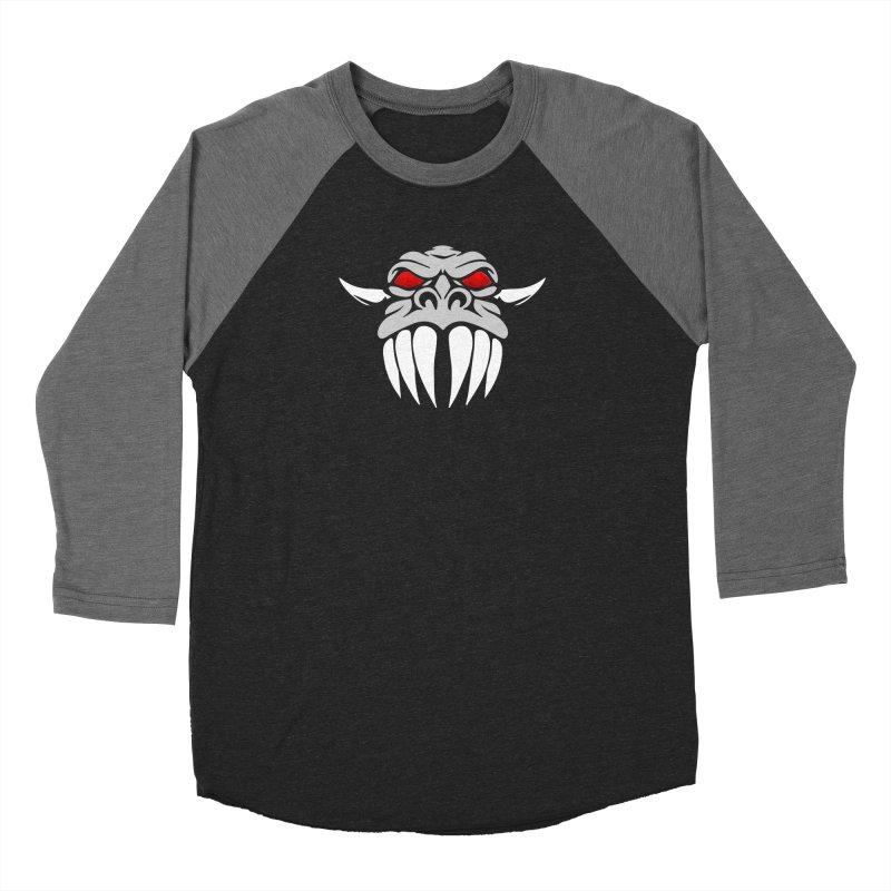 Dragon Face Men's Longsleeve T-Shirt by Klick Tee Shop