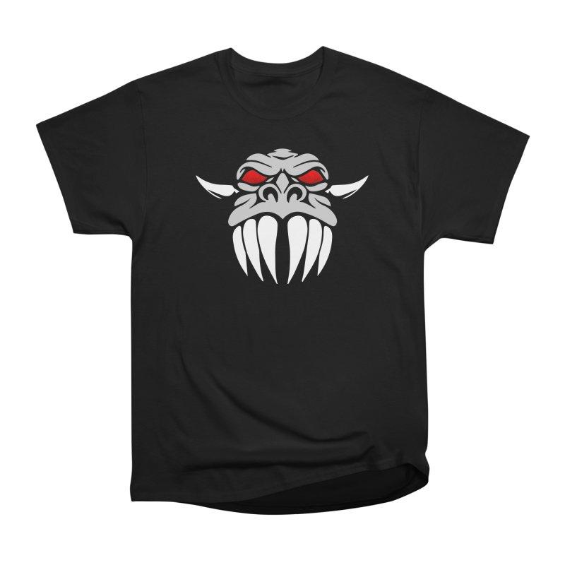 Dragon Face Men's T-Shirt by Klick Tee Shop