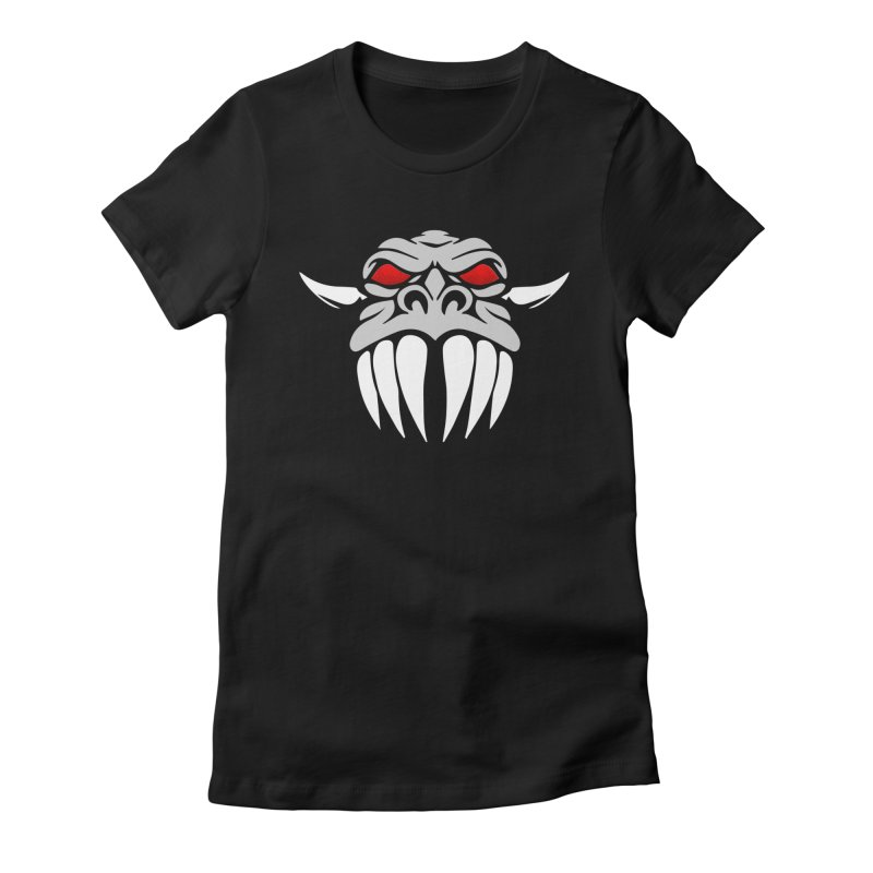 KISS Dragon Face Women's T-Shirt by Klick Tee Shop