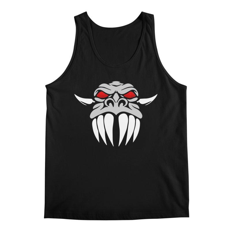 Dragon Face Men's Regular Tank by Klick Tee Shop