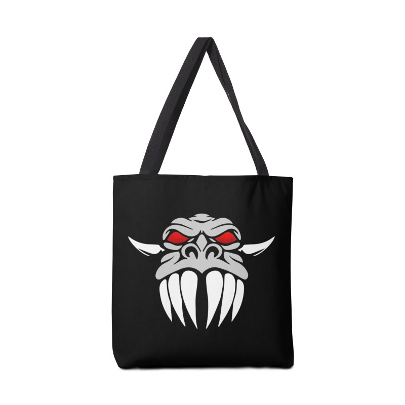 Dragon Face Accessories Tote Bag Bag by Klick Tee Shop