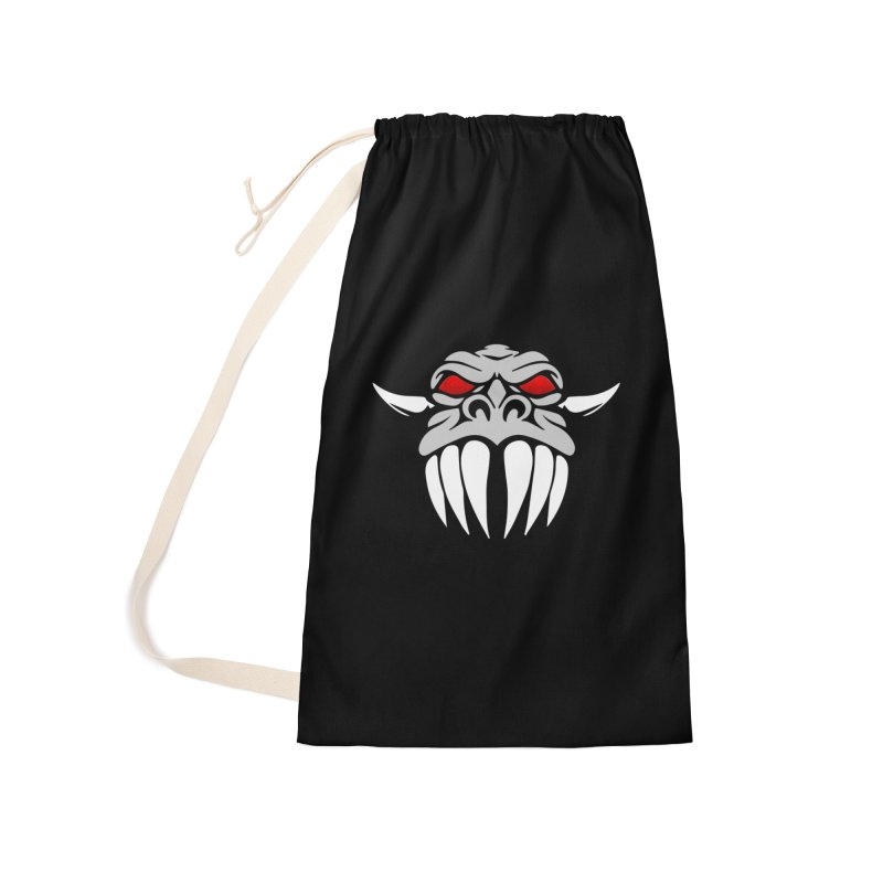 Dragon Face Accessories Bag by Klick Tee Shop