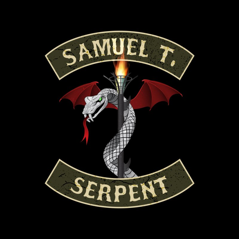 Samuel T. Serpent Men's T-Shirt by Klick Tee Shop