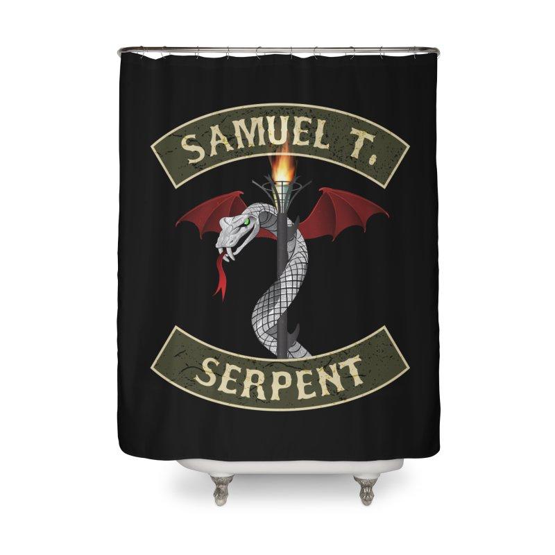 Samuel T. Serpent Home Shower Curtain by Klick Tee Shop