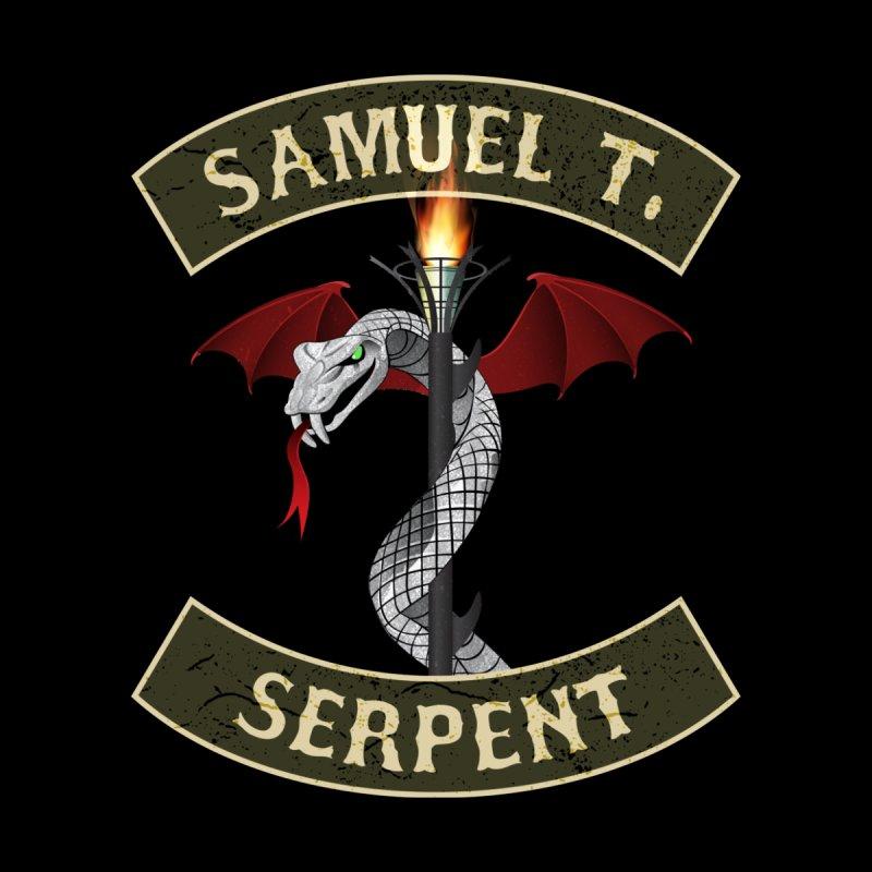 KISS Samuel T. Serpent Men's T-Shirt by Klick Tee Shop