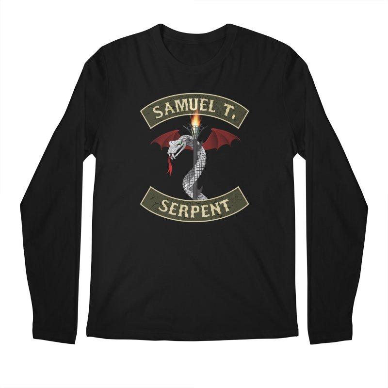 Samuel T. Serpent Men's Longsleeve T-Shirt by Klick Tee Shop