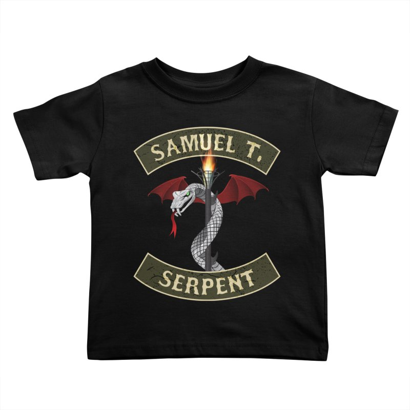 KISS Samuel T. Serpent Kids Toddler T-Shirt by Klick Tee Shop