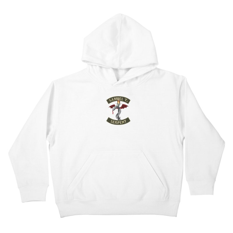 Samuel T. Serpent Kids Pullover Hoody by Klick Tee Shop