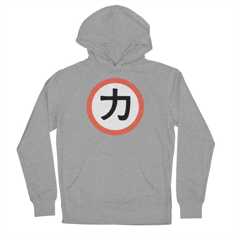 Chikara Women's French Terry Pullover Hoody by Klick Tee Shop