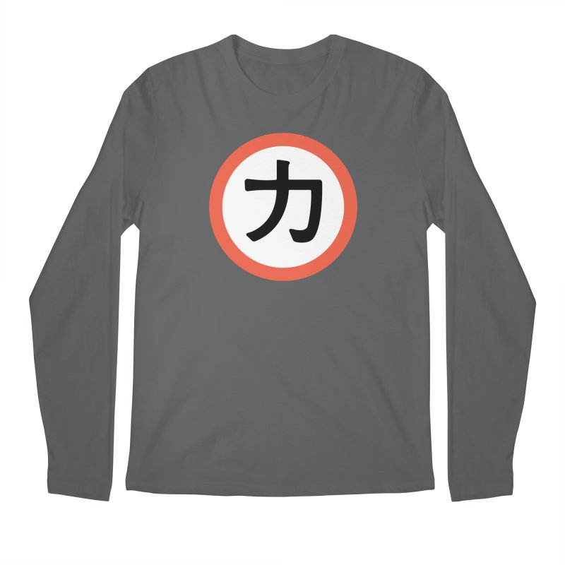 Chikara Men's Longsleeve T-Shirt by Klick Tee Shop