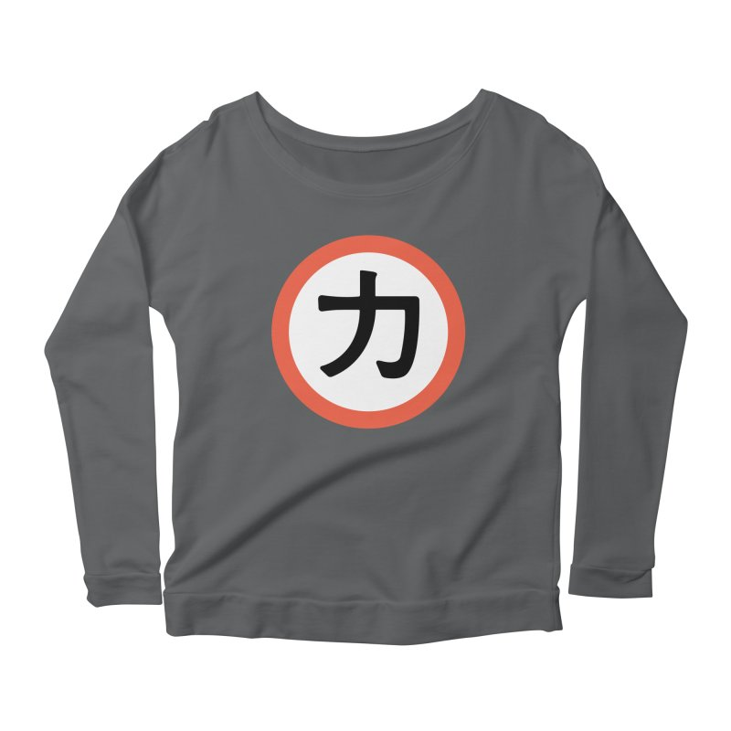 Chikara Women's Longsleeve T-Shirt by Klick Tee Shop