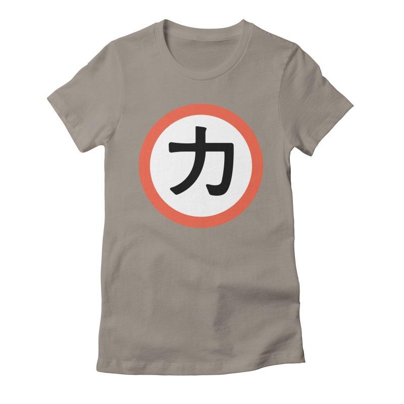 Chikara Women's Fitted T-Shirt by Klick Tee Shop