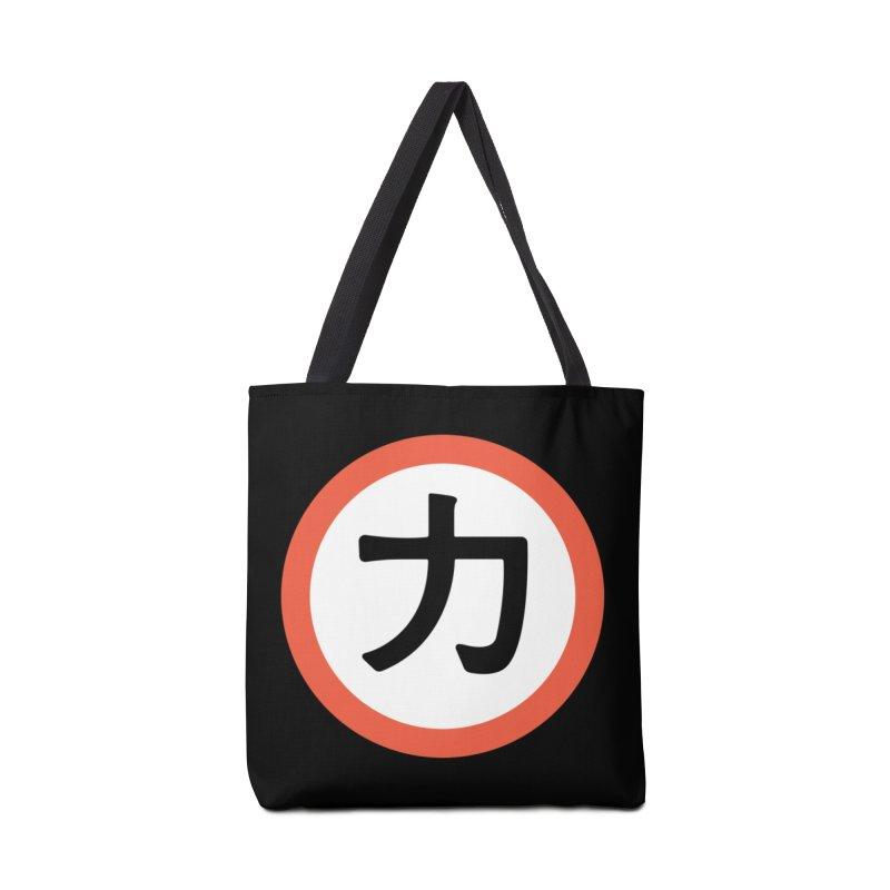 Chikara Accessories Tote Bag Bag by Klick Tee Shop