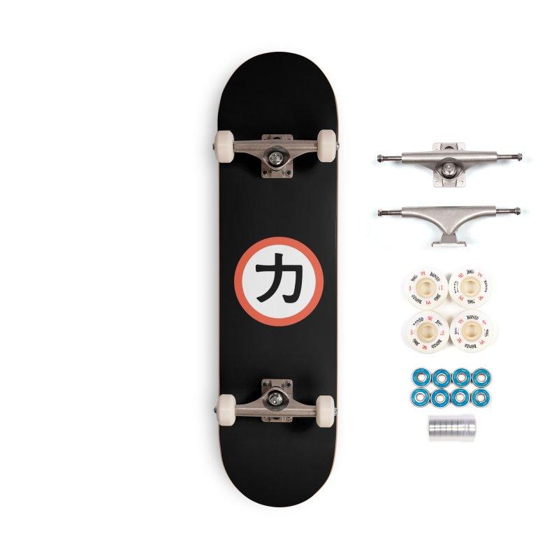 Chikara Accessories Skateboard by Klick Tee Shop