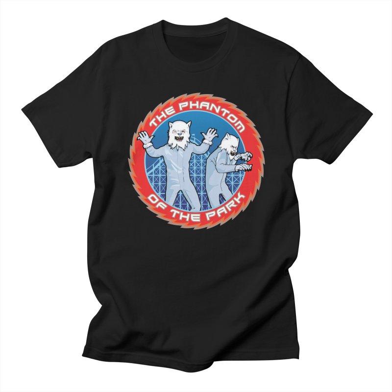 The Phantom of the Park Men's T-Shirt by Klick Tee Shop