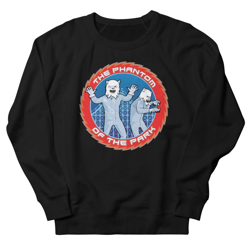 The Phantom of the Park Men's French Terry Sweatshirt by Klick Tee Shop