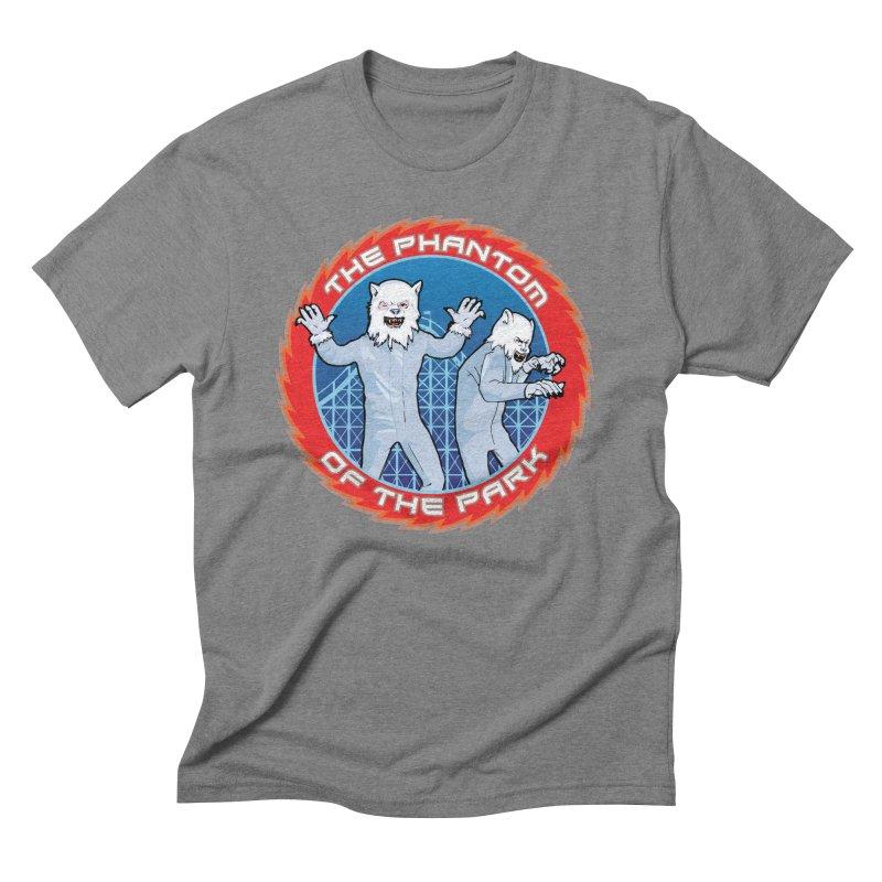 The Phantom of the Park Men's Triblend T-Shirt by Klick Tee Shop
