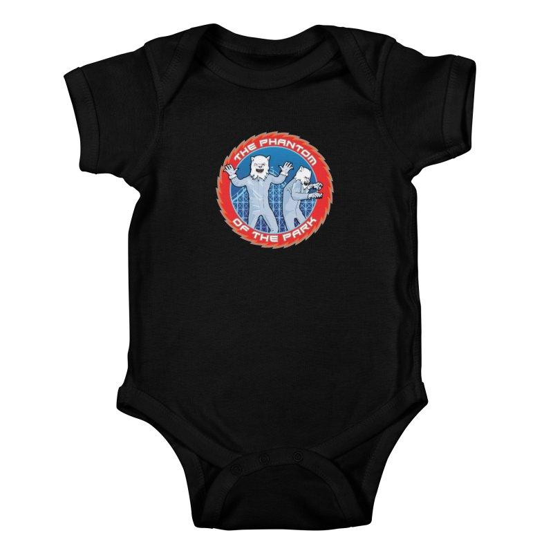 The Phantom of the Park Kids Baby Bodysuit by Klick Tee Shop