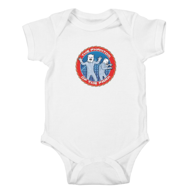 The Phantom of the Park Kids Baby Bodysuit by Klick Tee Shop