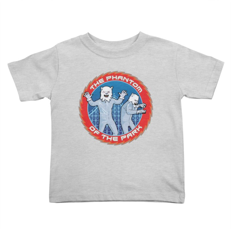The Phantom of the Park Kids Toddler T-Shirt by Klick Tee Shop