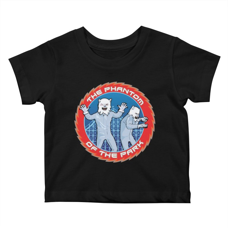 The Phantom of the Park Kids Baby T-Shirt by Klick Tee Shop