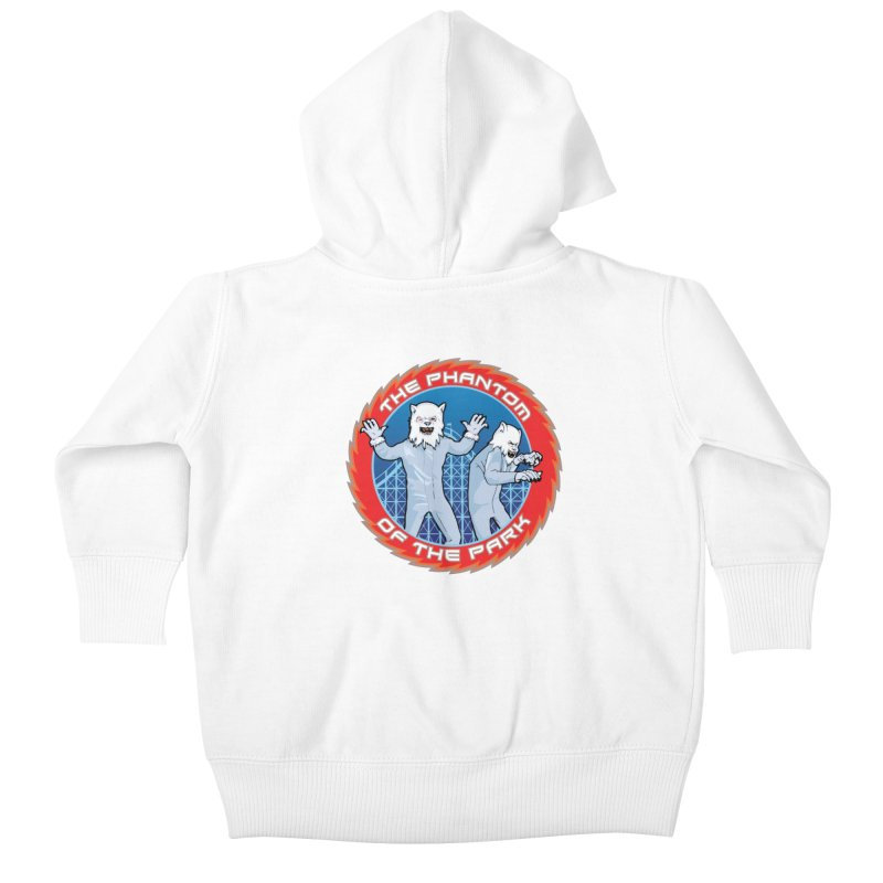The Phantom of the Park Kids Baby Zip-Up Hoody by Klick Tee Shop