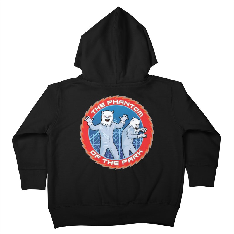 The Phantom of the Park Kids Toddler Zip-Up Hoody by Klick Tee Shop