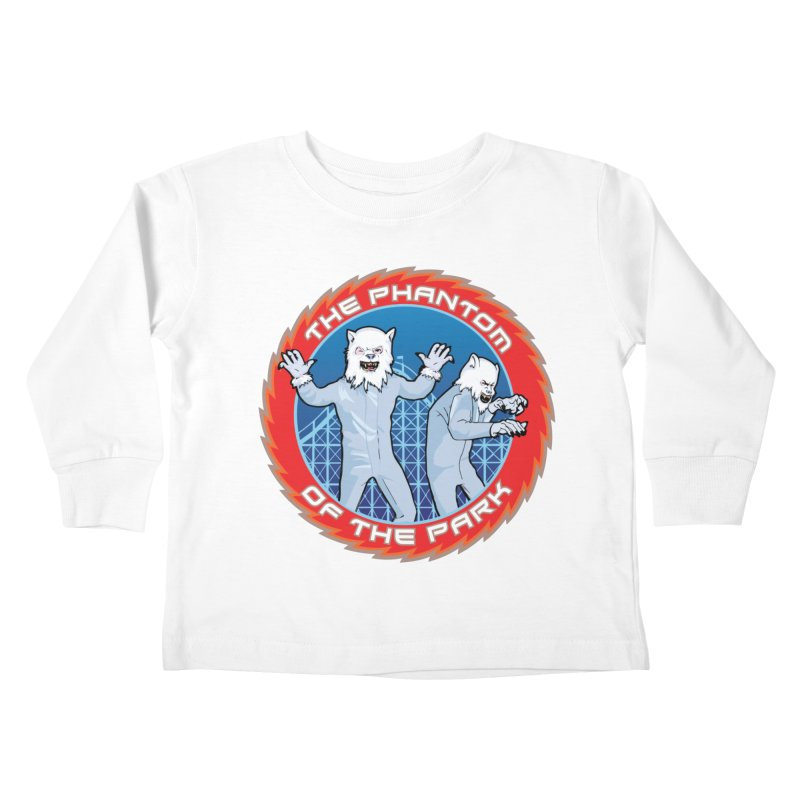 The Phantom of the Park Kids Toddler Longsleeve T-Shirt by Klick Tee Shop