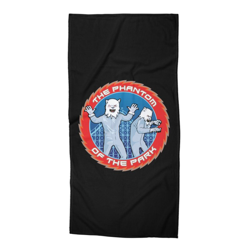 The Phantom of the Park Accessories Beach Towel by Klick Tee Shop