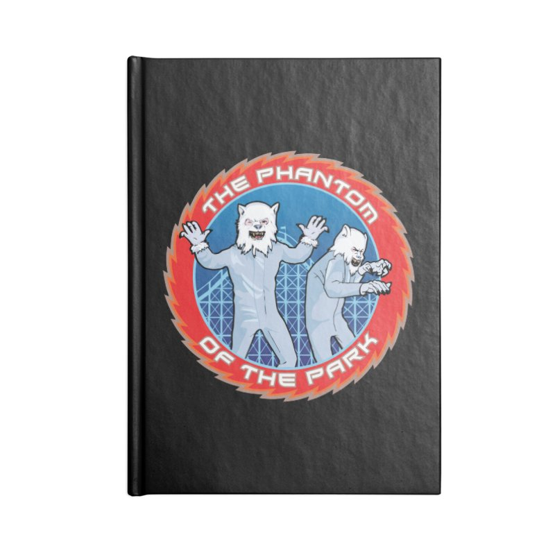 The Phantom of the Park Accessories Blank Journal Notebook by Klick Tee Shop