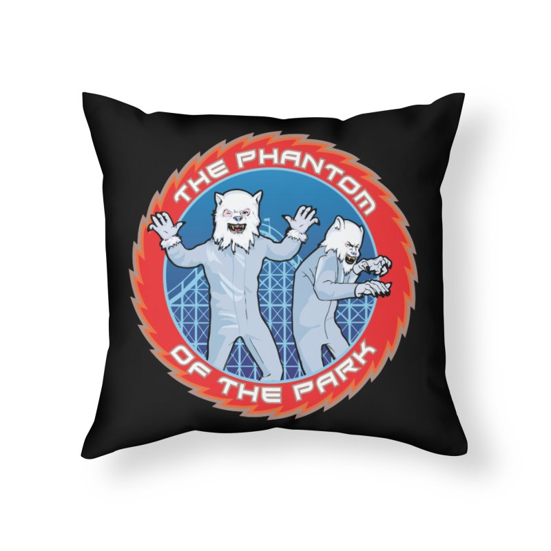 The Phantom of the Park Home Throw Pillow by Klick Tee Shop