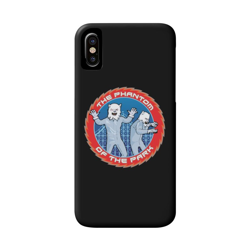 The Phantom of the Park Accessories Phone Case by Klick Tee Shop